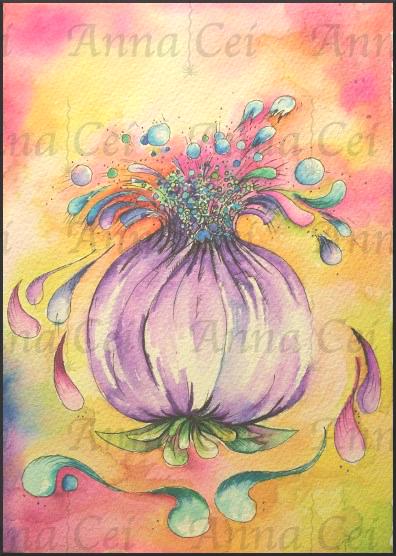 Propagation Bulb Watercolor